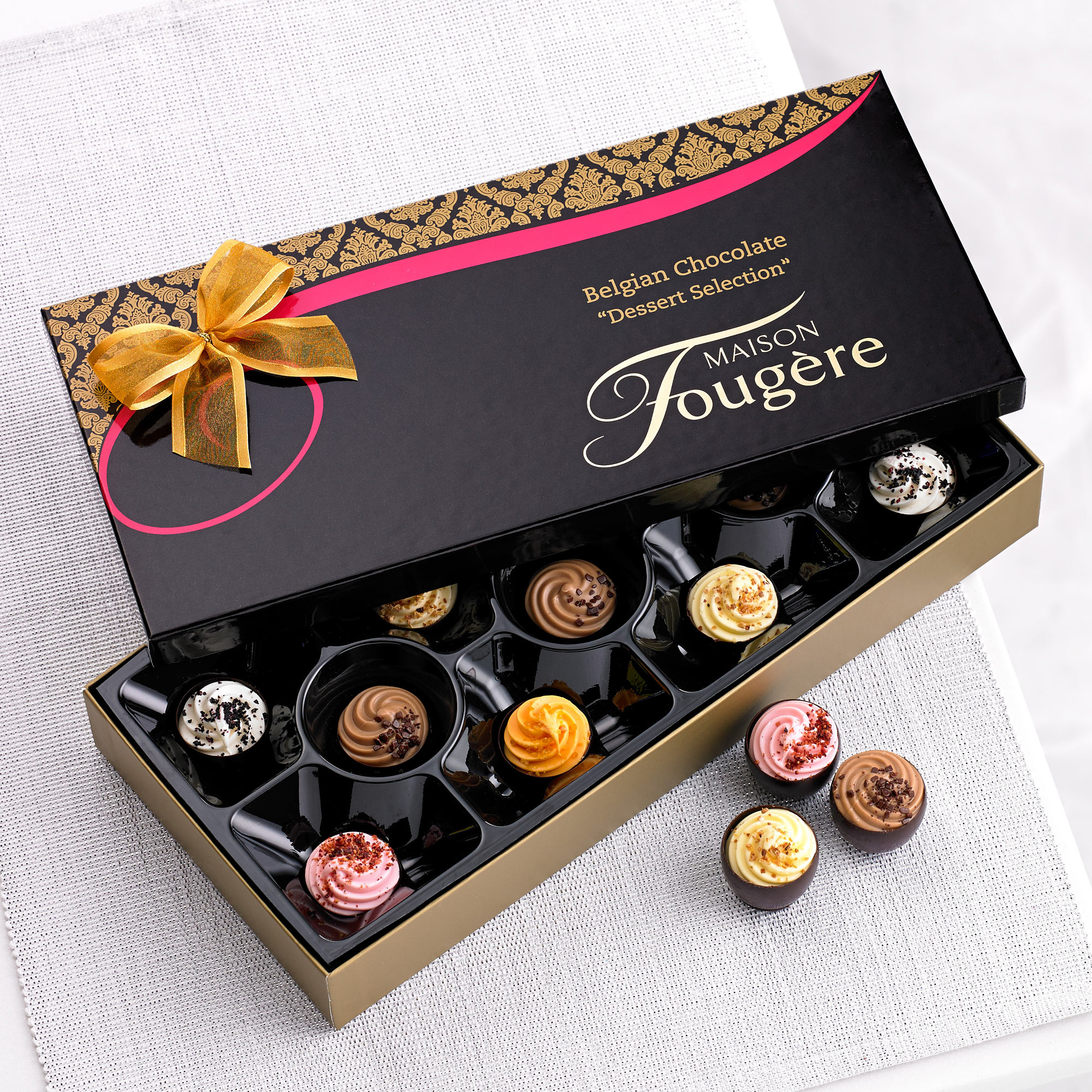 180g Maison Fougere Belgian Chocolates Dessert Selection - June ...