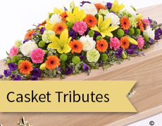 casket tributes feature
